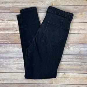 ZARA Black High Rise Skinny Jean